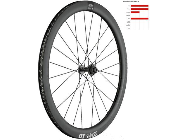 DT Swiss ERC 1100 DICUT Disc 47 Clincher Front Wheel black